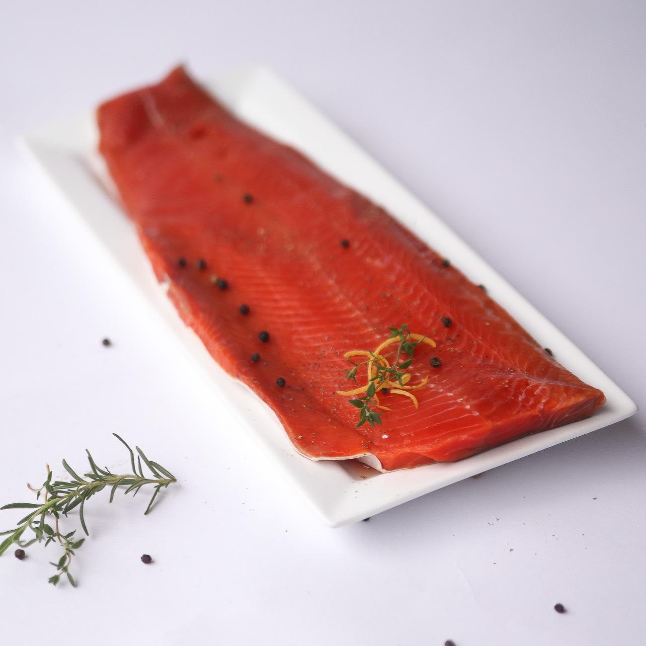 Wild Sockeye Salmon Filets